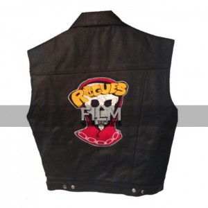 The Warriors Rogues Leader Leather Vest