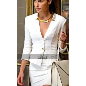 BVS Gal Gadot Wonder Woman White Blazer Jacket