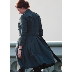 Mission Impossible 5 Rebecca Ferguson Long Coat