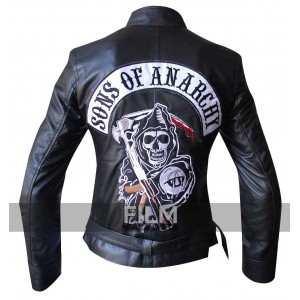 Sons of anarchy womens leather jacket