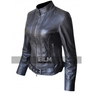 Sons Of Anarchy Women Biker Leather Jacket