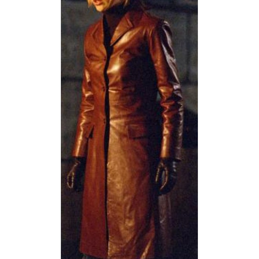Buffy the Vampire Slayer Buffy Summers Red Leather Coat