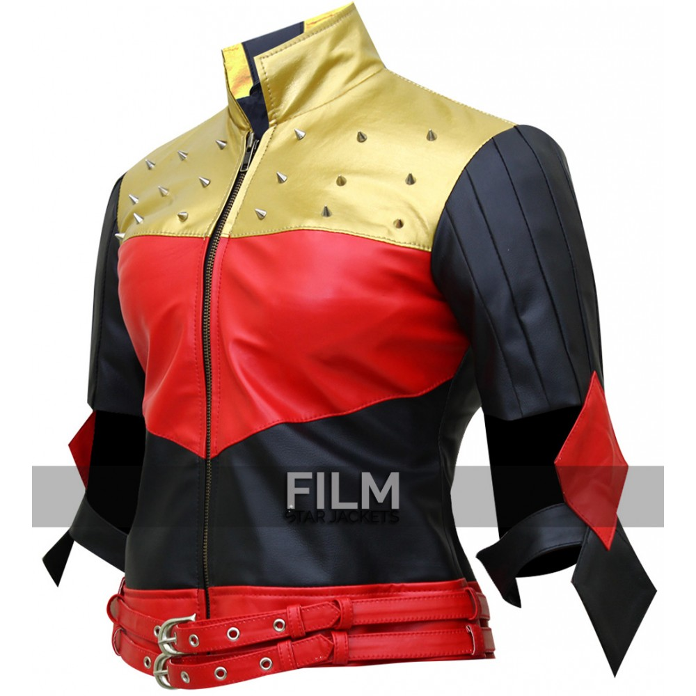 Kiss This Injustice Gods Among Us Harley Quinn Jacket