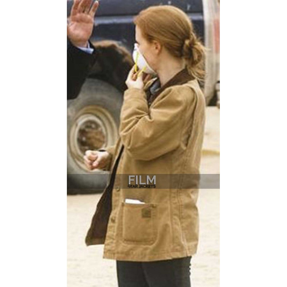 Interstellar Jessica Chastain (Murph) Cotton Jacket