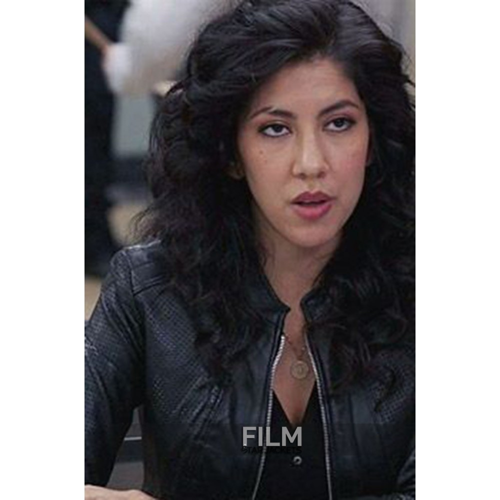 Stephanie Beartriz Brooklyn 99 Leather Jacket