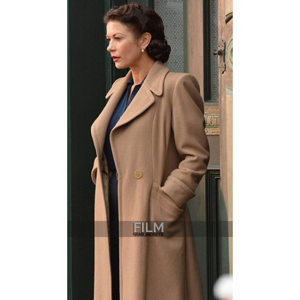 Dad's Army Catherine Zeta-Jones (Rose Winters) Coat