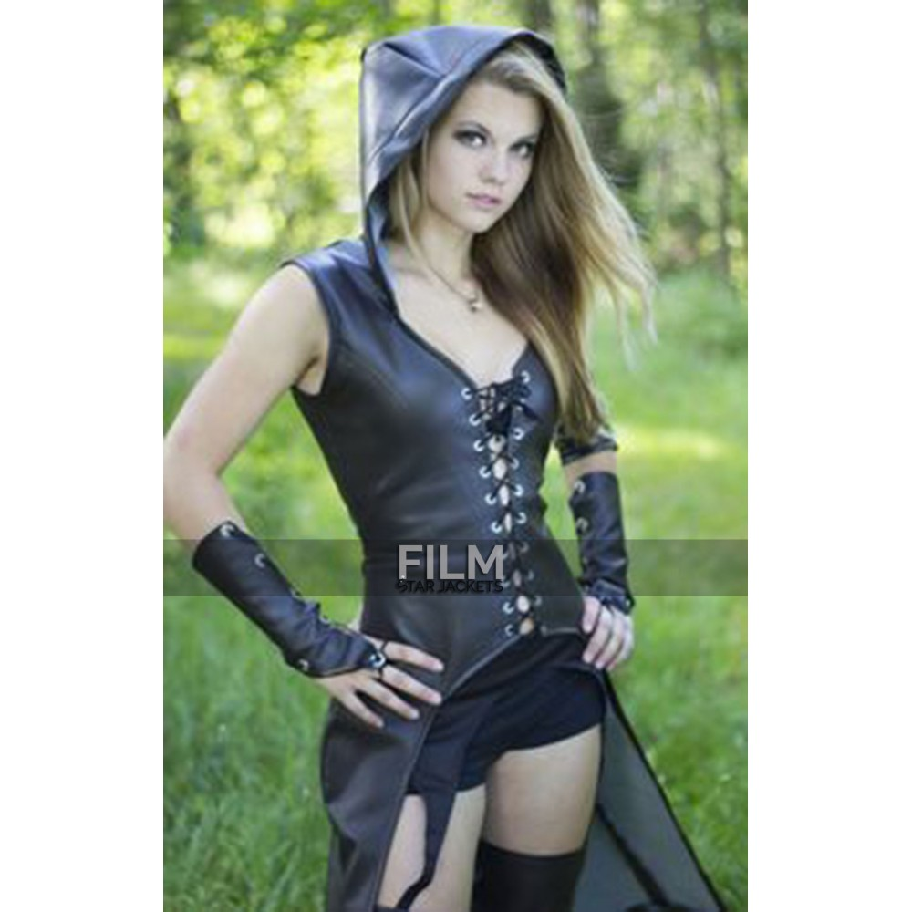 Sweet Pea Sucker Punch Leather Costume