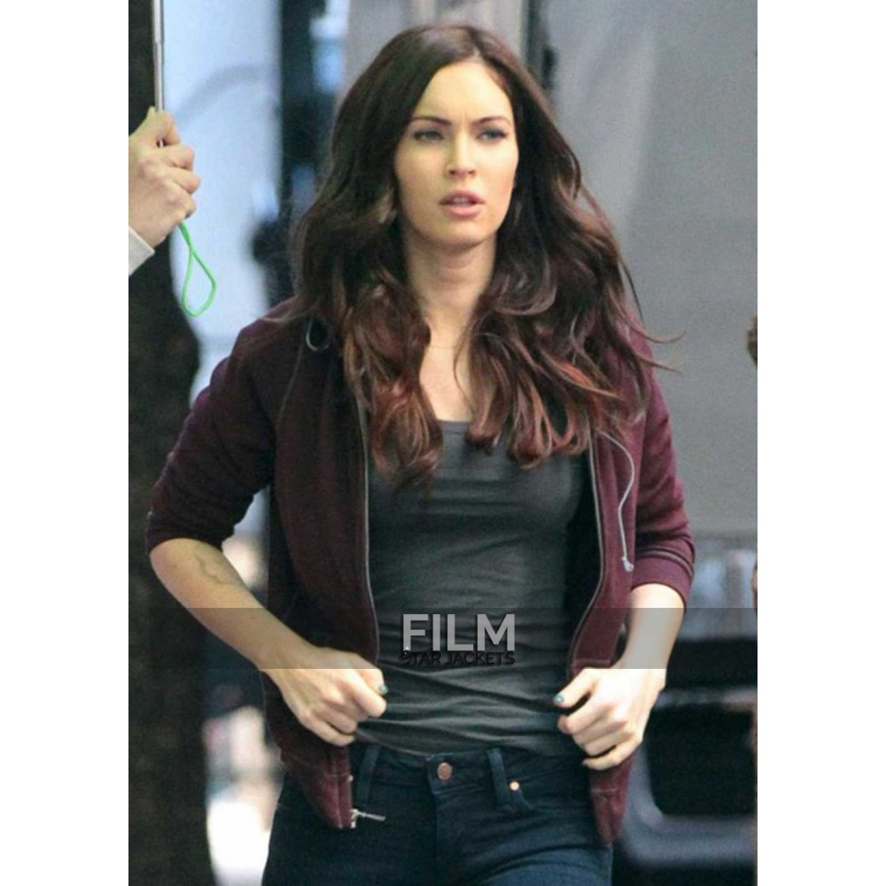 Teenage Mutant Ninja Turtles Megan Fox Red Jacket