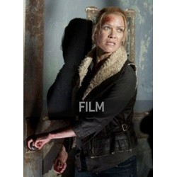Laurie Holden The Walking Dead Andrea Fur Vest