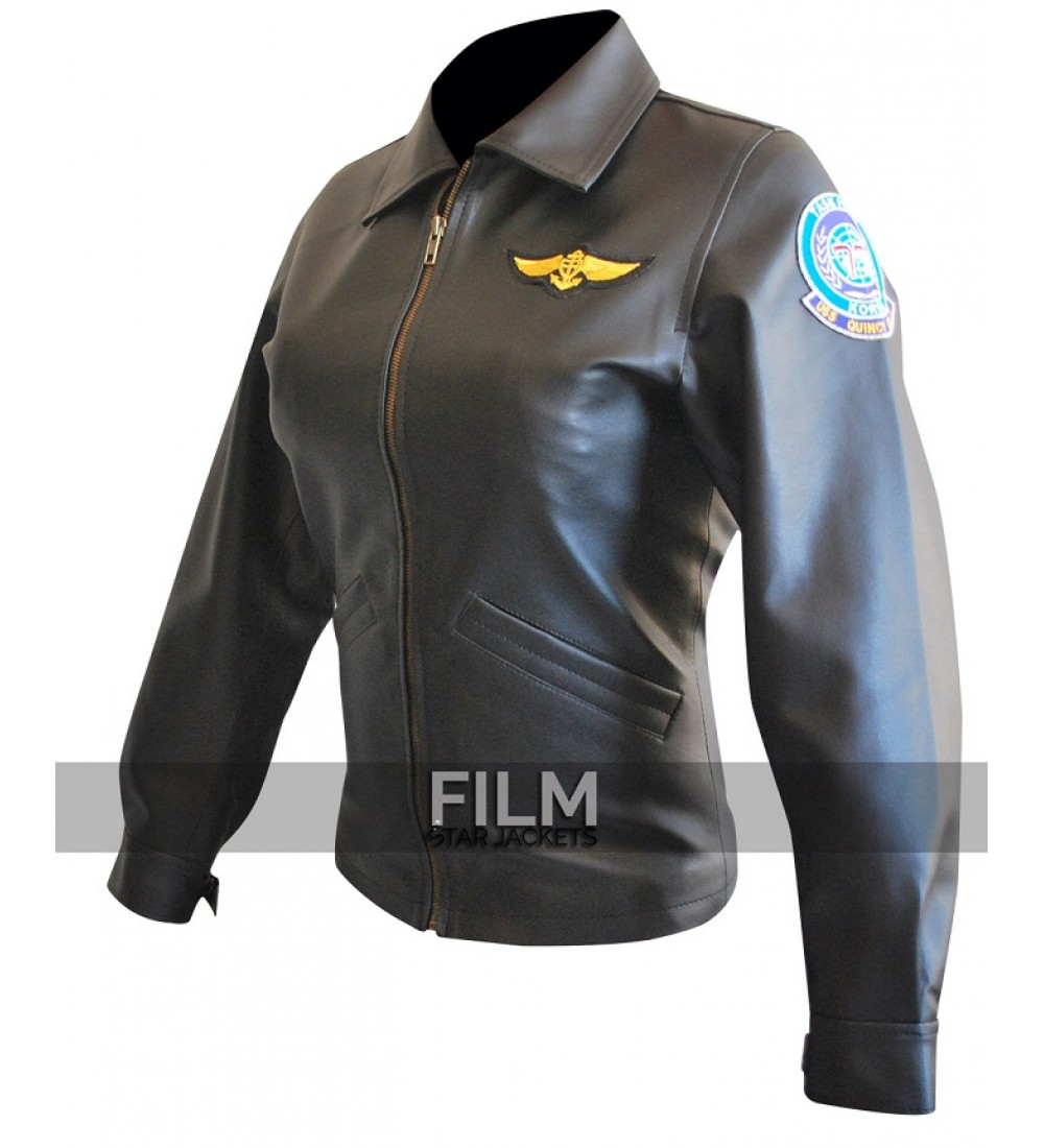 Gun Kelly McGillis (Charlie) Black Leather Jacket