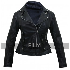 Carrie Wells Unforgettable Poppy Montgomery Biker Jacket