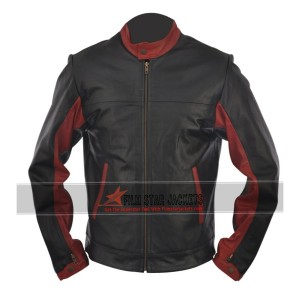 The Dark Knight Christian Bale (Batman) Biker Jacket