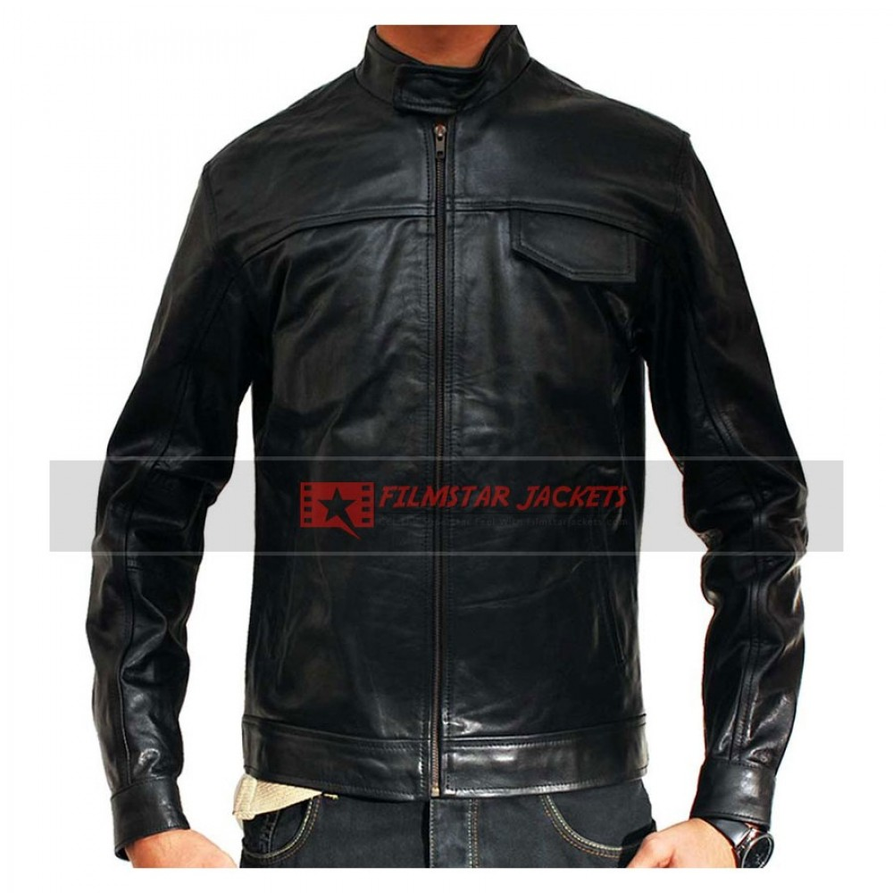 Transformers 2 Shia LaBeouf Black Jacket