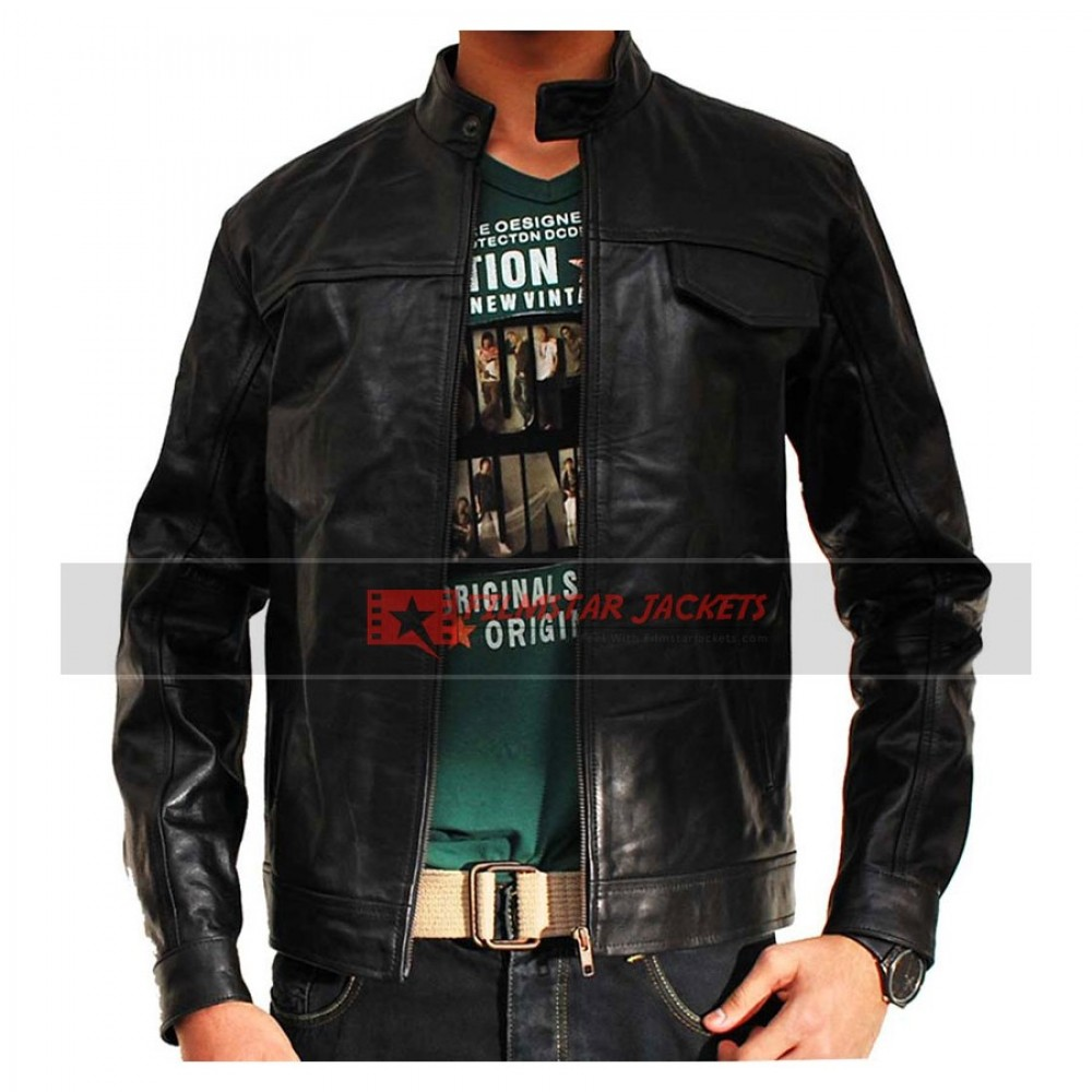 Transformers 2 Shia LaBeouf Black Jacket