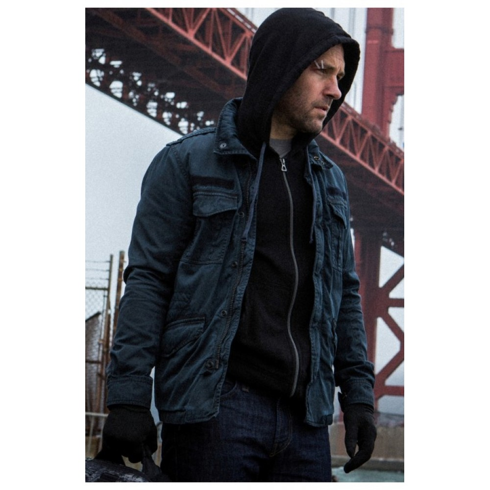 Ant Man Movie Paul Rudd Jacket