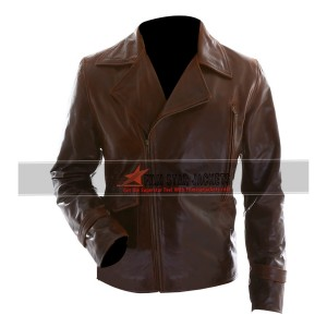 Captain America Chris Evans Biker Jacket