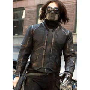 Captain America Winter Soldier Bucky Barnes Jacket