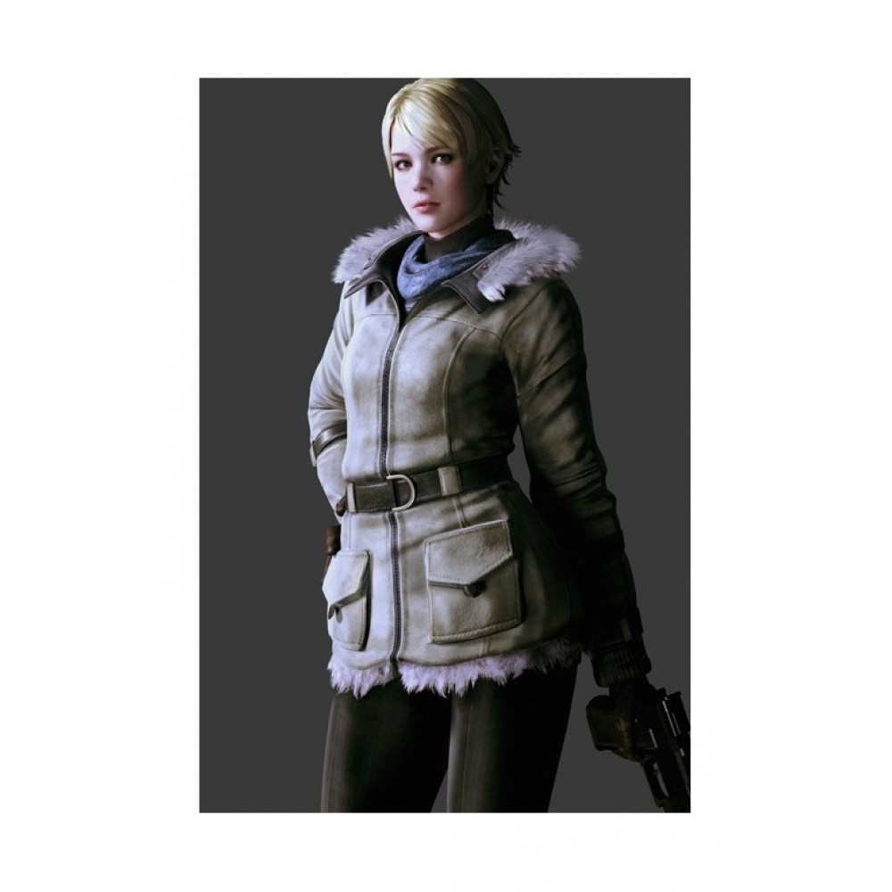 Resident Evil 6 Sherry Fur Costume