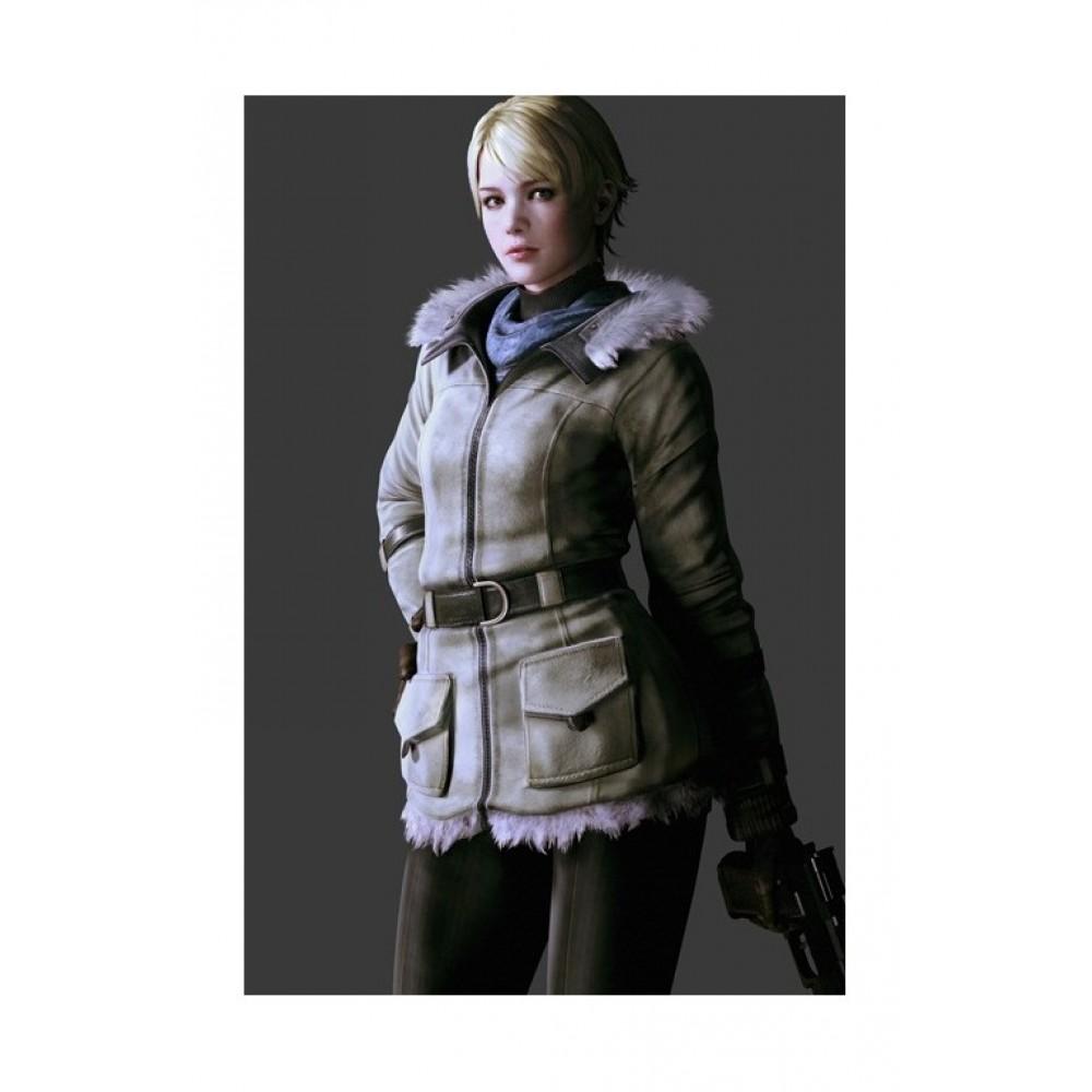 Resident Evil 6 Sherry Fur Costume