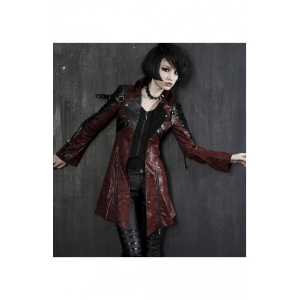 Punk Rave Long Visual Kei Jacket