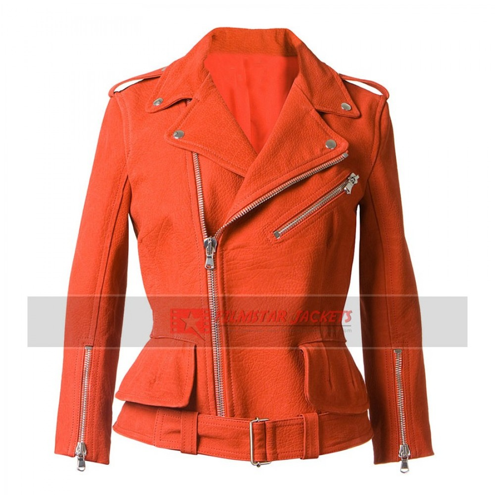 Alexander McQueen Designer Red Jacket