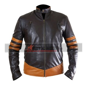 X-Men Origins: Wolverine Brown Jacket