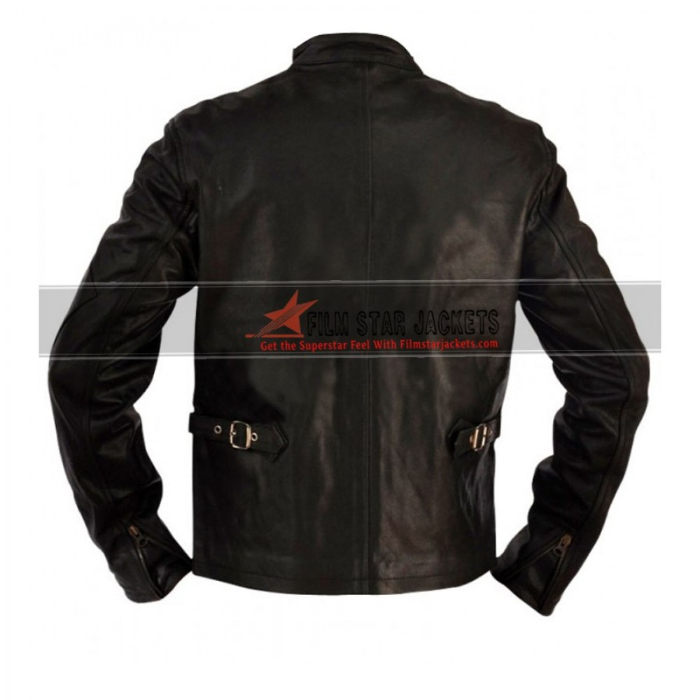 X-Men 3 Scott Cyclops Biker Leather Jacket For Sale