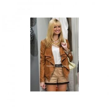 2 Broke Girls: Beth Behrs Brown Jacket
