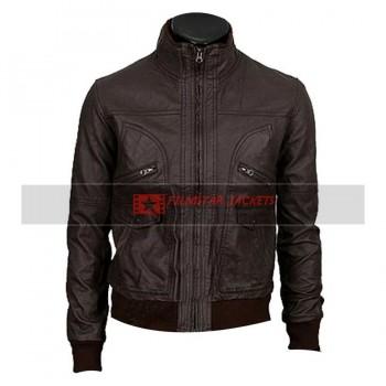6 Pocket Slim-fit Bomber Jacket