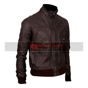 6 Pocket Slim-fit Bomber Jacket