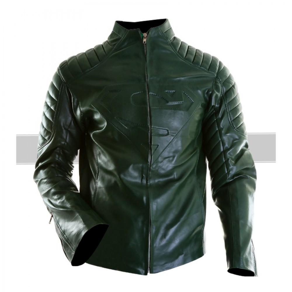 Superman SmallVille Green Jacket