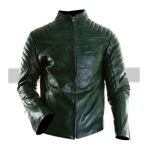 Superman SmallVille Green Jacket