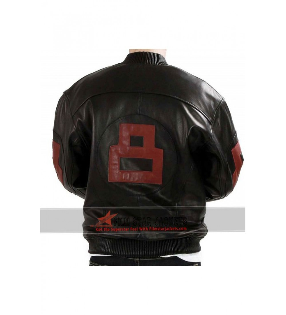 8 ball leather jackets