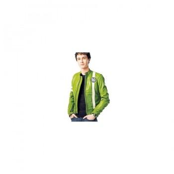 Ben 10 Ryan Kelley Green Cartoon Jacket Costume