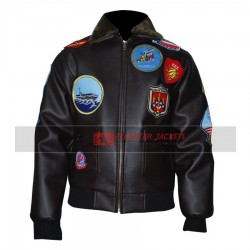 Top Gun Tom Cruise Bomber Flight Jacket