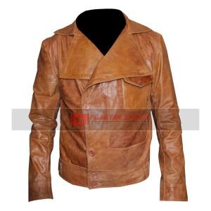 Aviator Leonardo Dicaprio (Howard Hughes) Brown Jacket