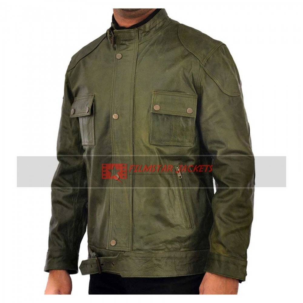 Wanted Wesley Gibson Green Jacket