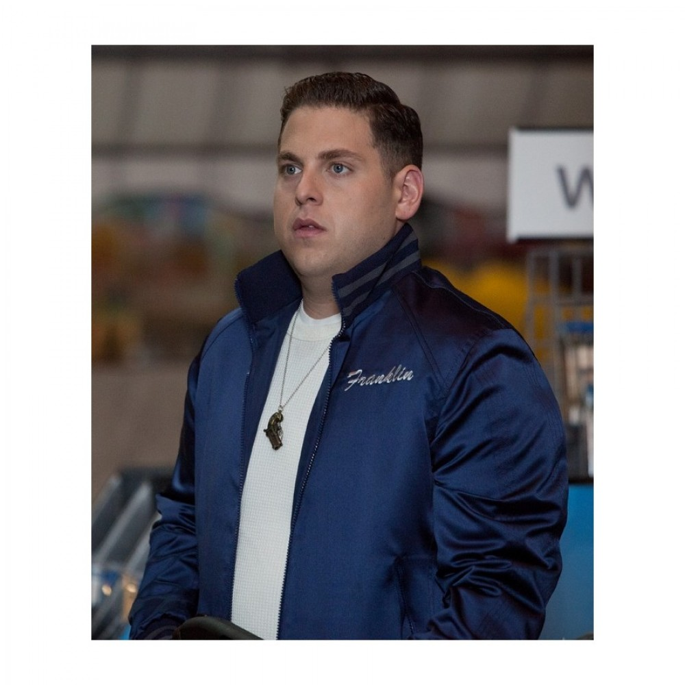 22 Jump Street Jonah Hill Satin Jacket
