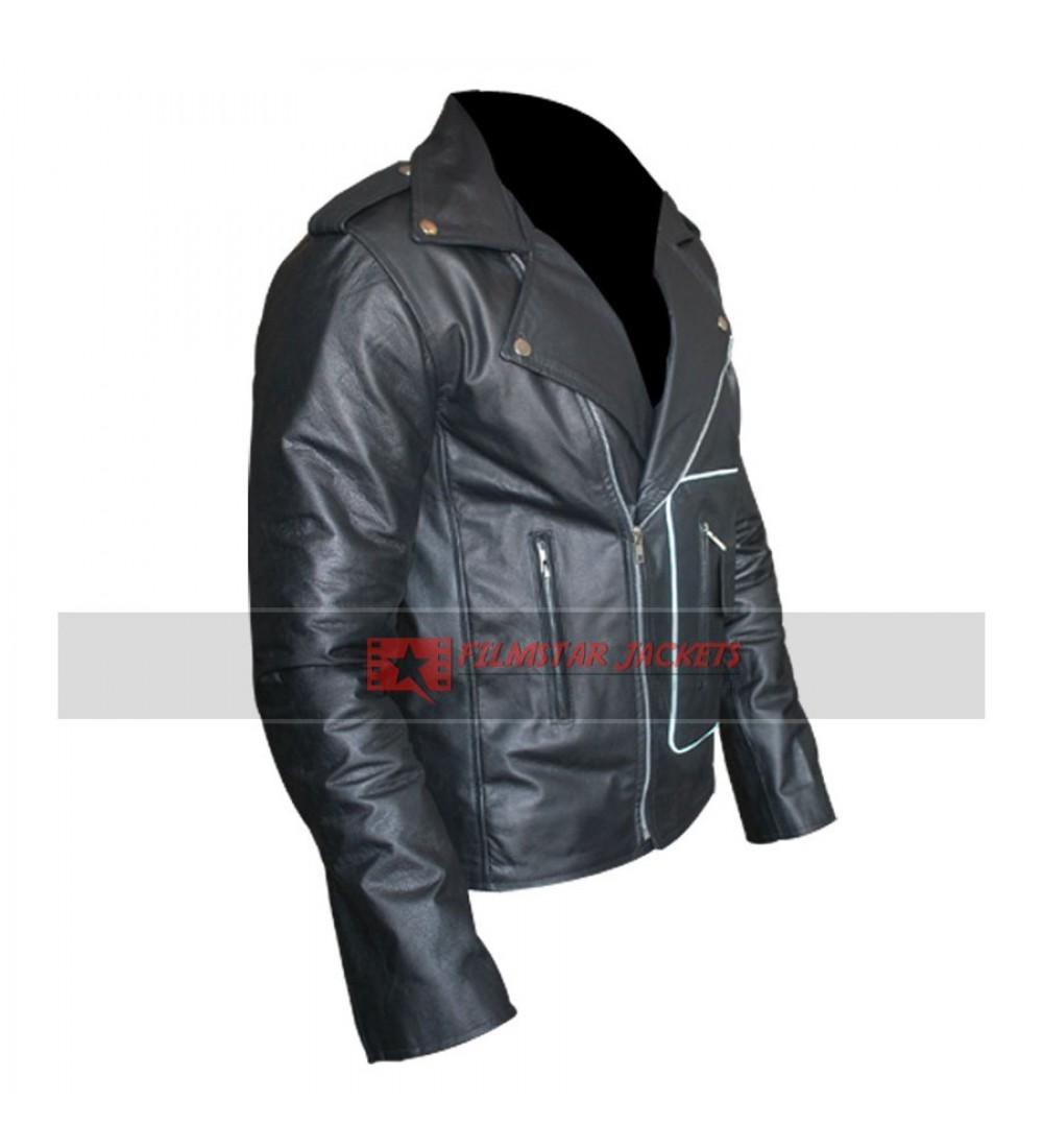 Danny zuko leather jacket