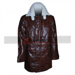 Bane Synthetic Faux Leather Coat