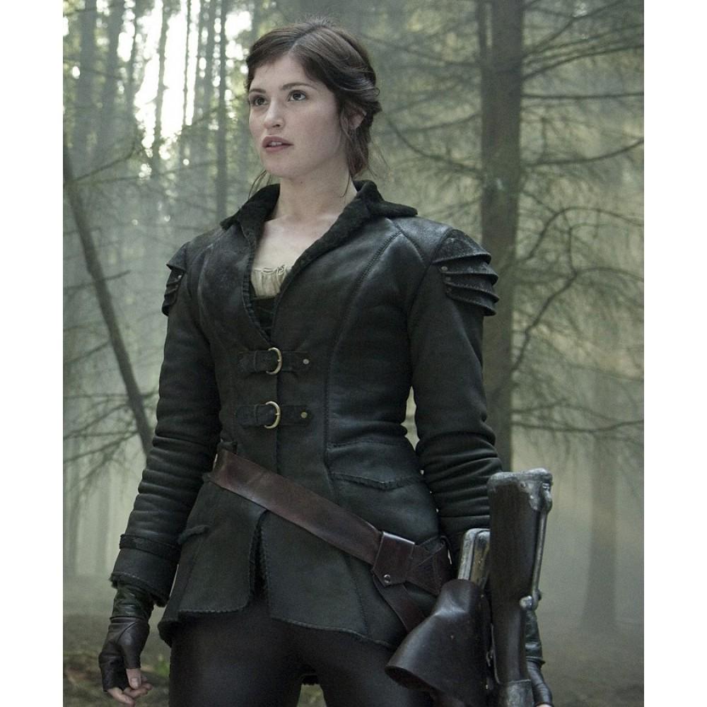 Hansel & Gretel Witch Hunters Gemma Arterton (Gretel) Leather Jacket