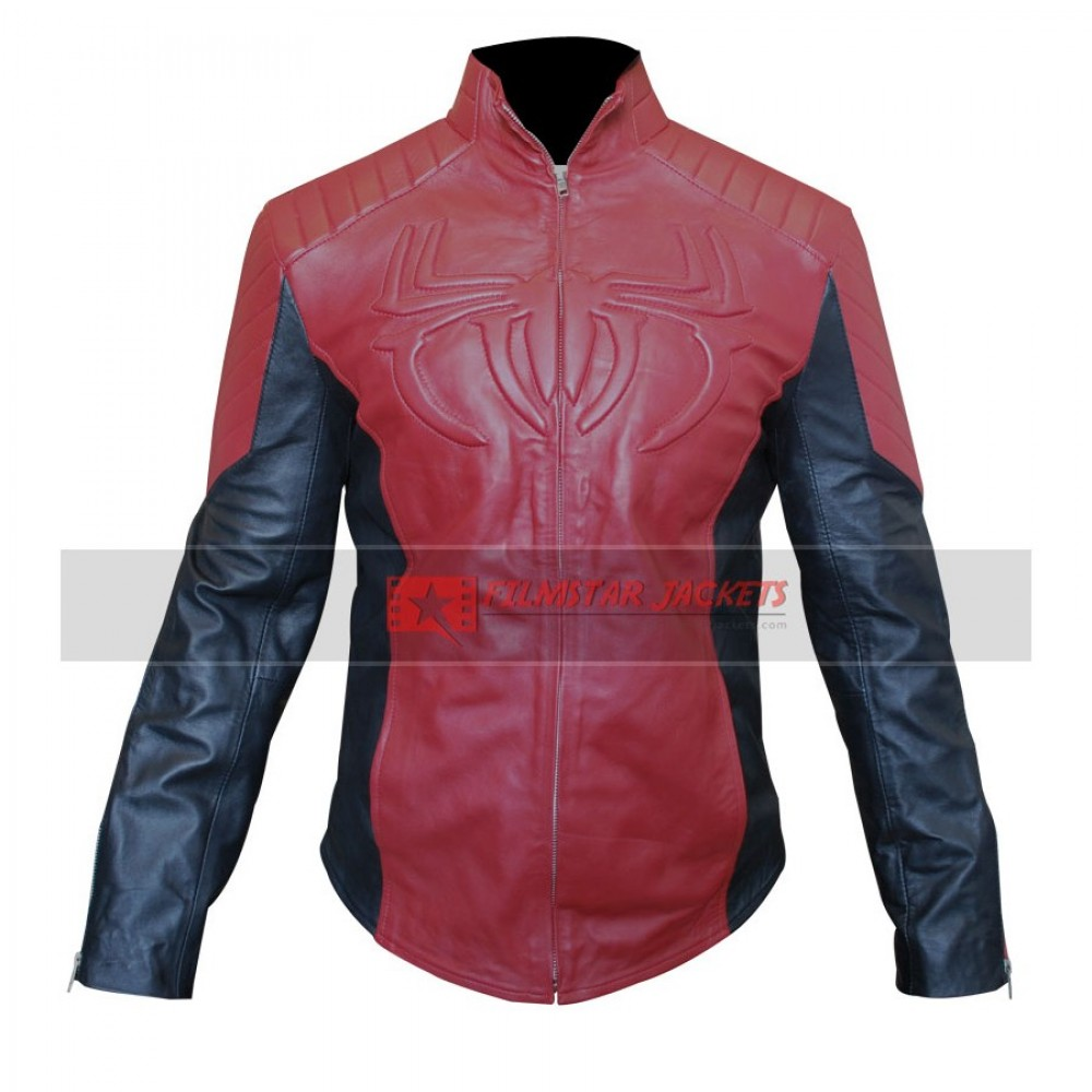 The Amazing Spider Man 2 Leather Jacket