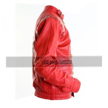 Akira Kaneda Pill Motorcycle Red & Black Jacket