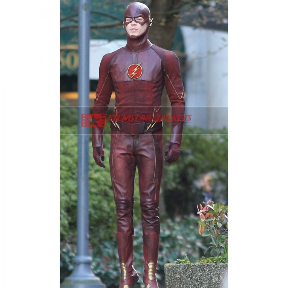 Arrow Season 2 Flash (Grant Gustin) Costume