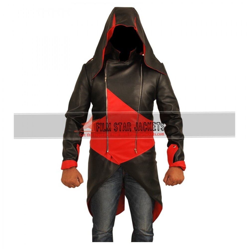 Assassin's Creed 3 Connor Kenway Black & Red Jacket