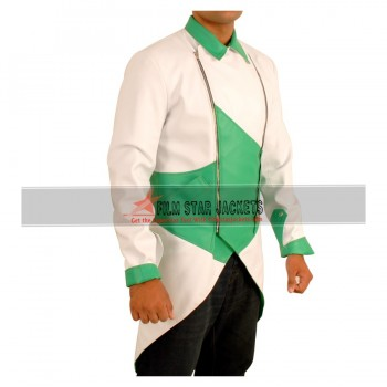 Assassin's Creed III Connor Kenway White & Green Costume