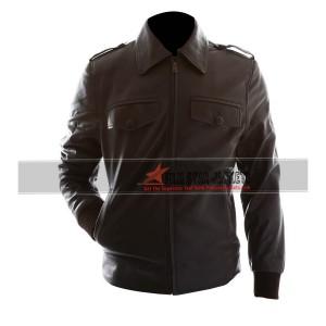 The Avengers Steve Rogers Biker Jacket