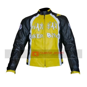 Biker Boyz Derek Luke Yellow Biker Jacket
