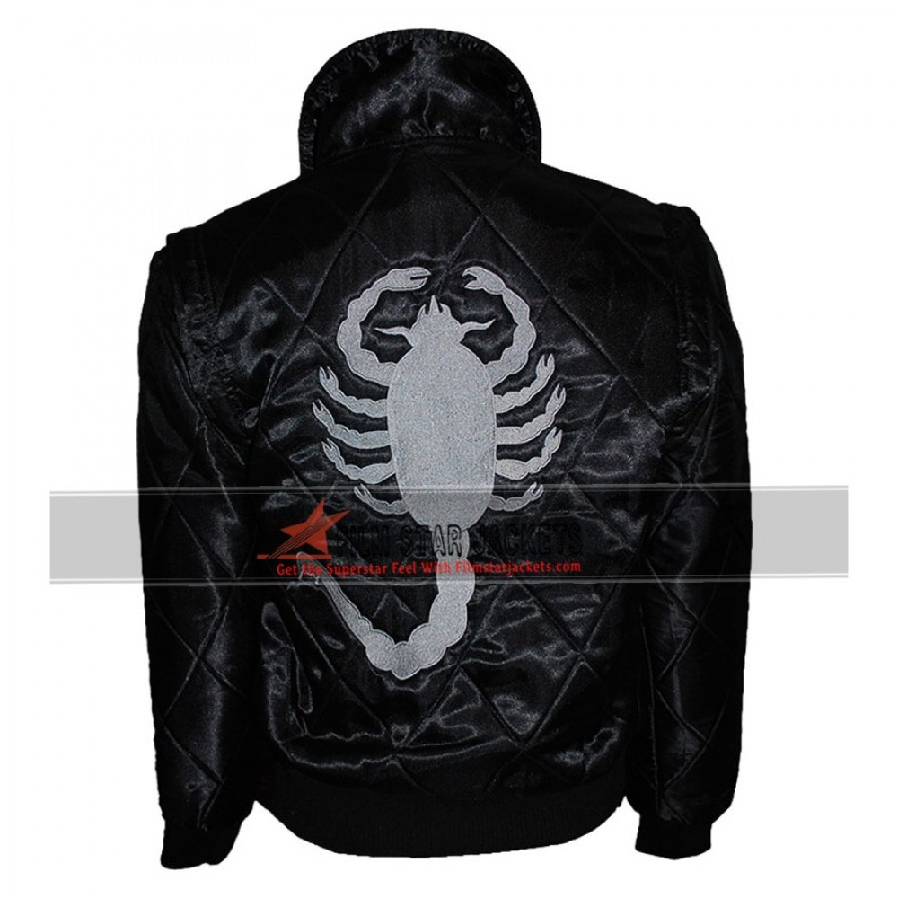 Black Drive Scorpion Ryan Gosling Jacket