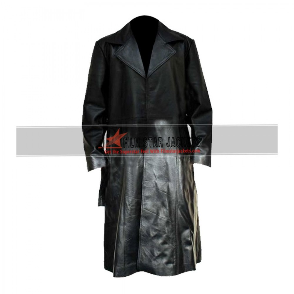 Blade Fancy Dress Wesley Snipes Trench Coat Costume